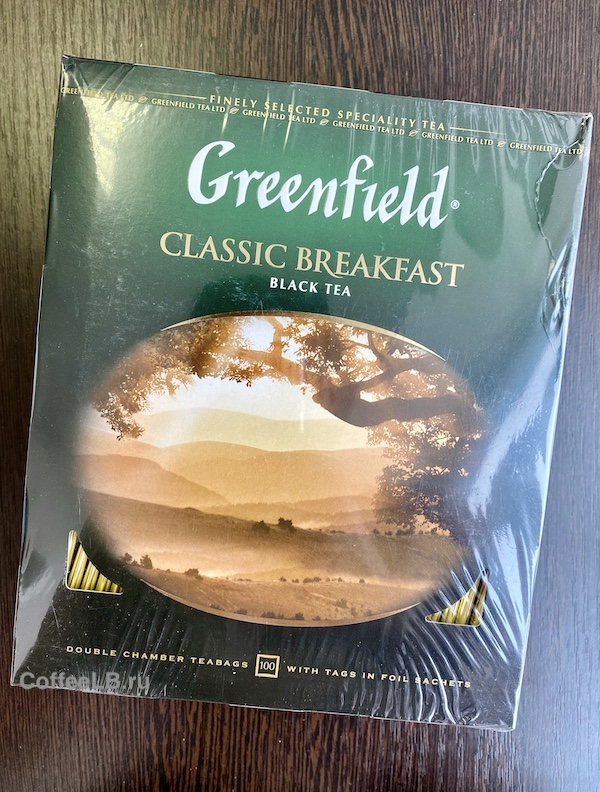 Чай в пакетиках Greenfield Classic Breakfast 1